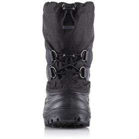 Sorel Super Trooper Boots Youth Black/Light Grey